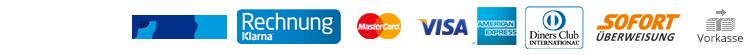 Ob PayPal, Klarna, MasterCard, Visa, American Express, Diners, Sofortüberweisung oder Vorkasse - Wählen Sie Ihre Bezahlmethode bei Hervis